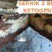 sernik ketogeniczny z brownie